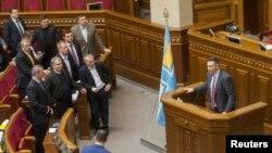 Parlamenti i Ukrainës - foto arkivi