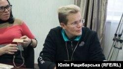 Людмила Калініна, круглий стіл про жінок-ветеранок, Дніпро, 10 грудня 2019 року
