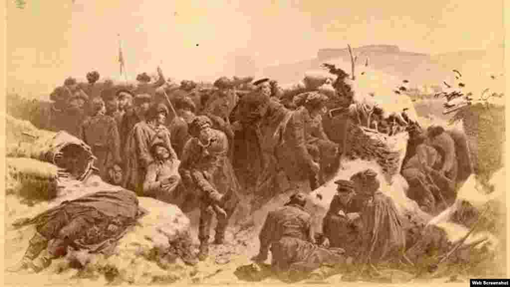 Осада аула Ведено, Куринский полк, 1859 г.