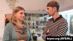 Олена Соболєва і Рустем Скібін