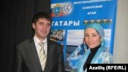 Кичәне алып баручылар - Илдар Тренгулов белән Лилия Сәлимова