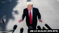 Президентът на САЩ Доналд Тръмп.