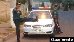 Тошкент шаҳридаги милиционер. Иллюстратив расм