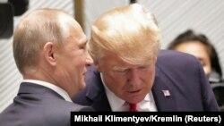 Владимир Путин и Дональд Трамп, Вьетнам, 11 ноября 2017 года