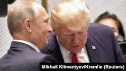 Владимир Путин ва Доналд Трамп