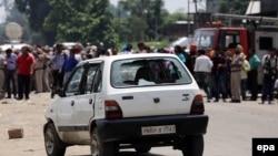 هند: پر پولیس تاڼه په برید کې ښکېل ګاډی