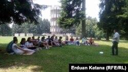 Učesnici kampa Kozarac u Prijedoru