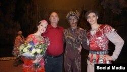 «Шурале» балетиндеги дебют.