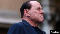 Италияның бұрынғы премьер-министрі Сильвио Берлускони. Рим, 4 тамыз 2013 жыл. (Көрнекі сурет)