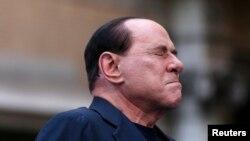 Бывший премьер-министр Италии Сильвио Берлускони. Рим, 4 августа 2013 года.