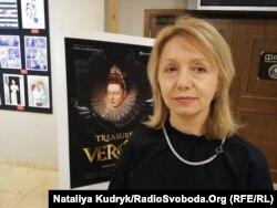 Режисерка фільму «Веронські скарби» Світлана Ліщинська. Рим, 28 лютого 2020 року