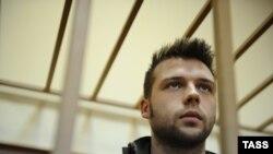 Илья Гущин в Басманном суде