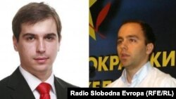 Шефовите на подмладоците на ВМРО-ДПМНЕ и на СДСМ, Диме Спасов и Дарко Давитковски. УМС на ВМРО-ДПМНЕ најави дека во текот на денот ќе го соопшти својот став за декларацијата предложена од СДММ.