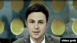 Журналист телекомпании «31 канал» Владислав Длиннов. Фото взято из его twitter-аккаунта. Алматы, 7 июня 2012 года.