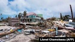 Руйнування на острові Сен-Мартен після урагану «Ірма», 7 вересня 2017 року
