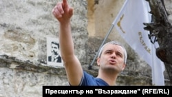 """Лидерът на """"Възраждане"""" Костадин Костадинов"""