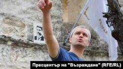 """Лидер пророссийской партии """"Возрождение"""" Константин Костадинов"""