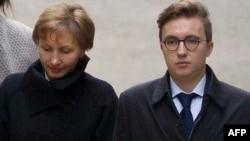 Marina Litvinenko cu fiul ei Anatoli