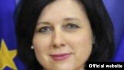 Vera Jourova, comisar european pe probleme de justiție