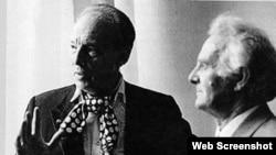 ძმები: ჯორჯ ბალანჩინი (მარცხნივ) და ანდრია ბალანჩივაძე