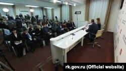 Пресзала кримського уряду