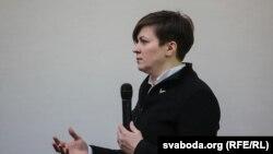 Лидер белорусского оппозиционного движения «Говори правду» Татьяна Караткевич.