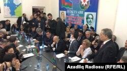 Azərbaycan müxalifətinin 25 dekabr görüşü