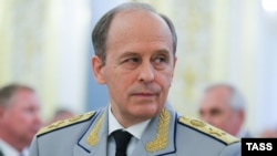 Russian Federal Security Service Director Aleksandr Bortnikov (file photo)