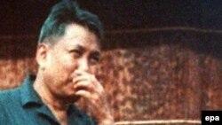 """Пол Пот, лидер """"красных кхмеров"""""""
