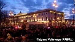 Bolotnaya action Peterburg 2