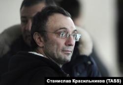 Anzhi Makhachkala's owner Suleiman Kerimov (file photo)