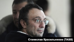Российский бизнесмен и член Совета Федерации Сулейман Керимов.
