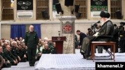 عکسی از دیدار فرماندهان سپاه با علی خامنهای، ۱۰ مهر ۱۳۹۸