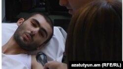 Арам Манукян в больнице, сентябрь 2016 г․