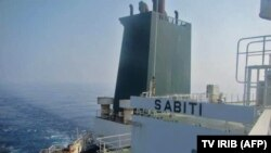 The Sabiti tanker was apparently hit in Red Sea waters off Saudi Arabia on October 11, Iranian media have reported. (file photo)