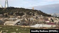 Bakı, sürüçmə ərazisi olan Bayıl yamacı, 25 yanvar 2018