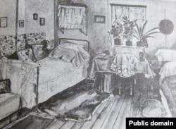 Комната Эфрон и Шкодиной в Туруханске