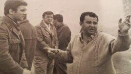 S lijeva na desno: Boris Dvornik, Velimir Bata Živojinović i Hajrudin Krvavac