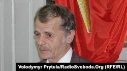 Долгогодишниот лидер на Кримските Татари, Мустафа Џемилев.