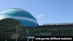 Астанадағы Нұрсұлтан Назарбаев халықаралық әуежайы.