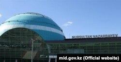 Международный аэропорт Nursultan Nazarbayev в Астане