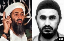 There were major ideological differences between the Islamic extremists Osama bin Laden (left) and Abu Musab al-Zarqawi.