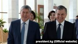 Қирғиз президенти Тошкентга келди¸ Мирзиëев ҳамкасбини аэропортда ўзи кутиб олди