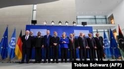 Під час мирного саміту щодо Лівії. Берлін, 19 січня 2020 року