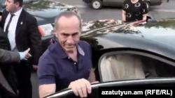 Ex-preşedintele armean Robert Kocharian. 25 iunie 2019