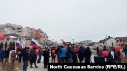 Несмотря на давление со стороны властей, несогласные все же вышли протестовать