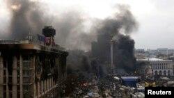 Киев, 20 февраля