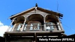 Памятник деревянной архитектуры в Заонежье