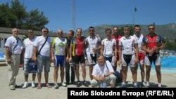 Kragujevački biciklisti u Mostaru, foto: Mirsad Behram