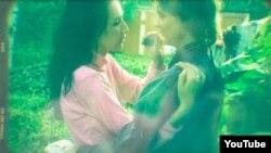 Лявон і Ганна Вольскія. Фота зь сямейнага архіву Вольскіх, выкарыстанае ў кліпе на песьню «Цёплае мінулае»